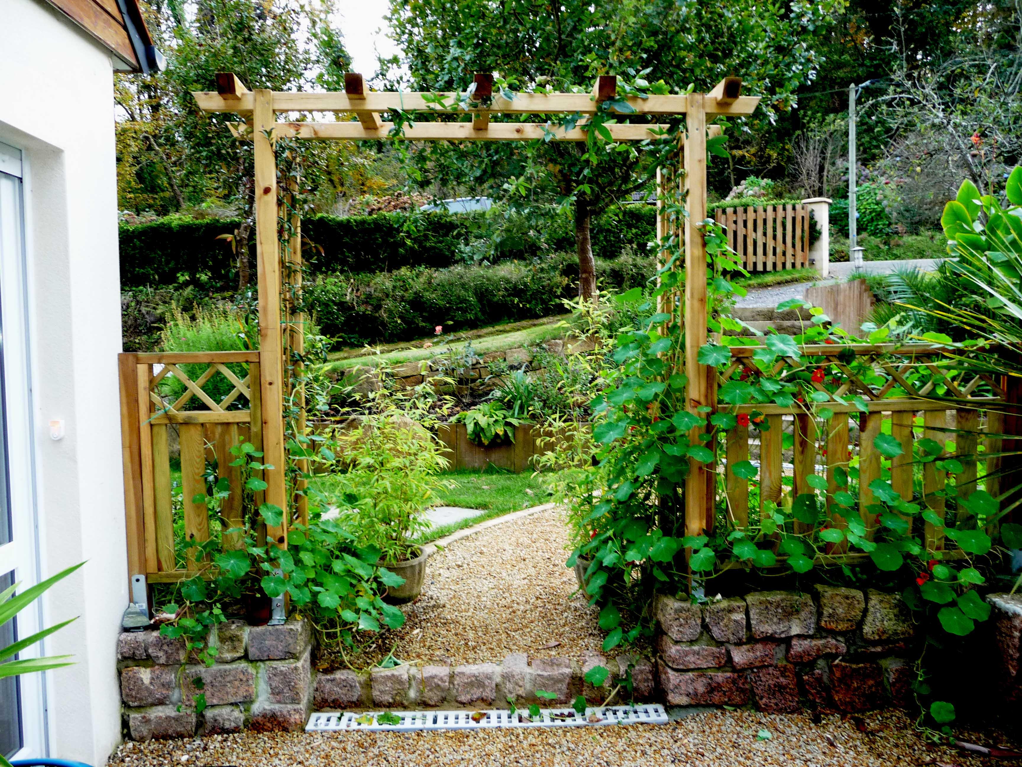 Ambiance de jardin